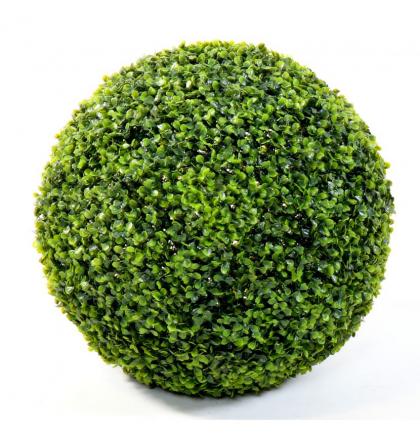 Buis artificiel boule single UV Ø75cm