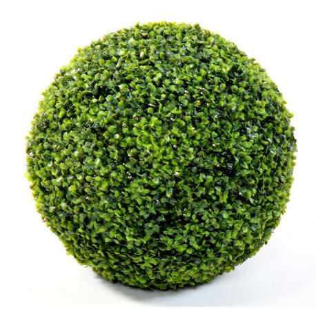 Buis artificiel boule single Ø75cm