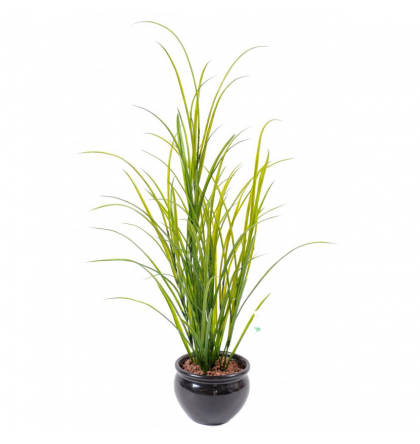 Herbe artificielle des champs 100cm | Graminée artificielle