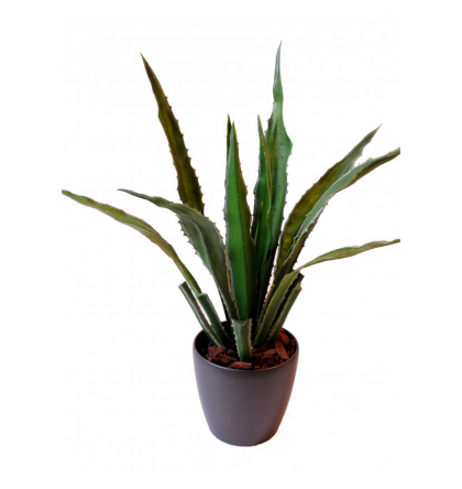 Agave large artificielle 90cm