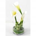 Bouquet artificiel Arôme et Pandanus 40cm
