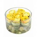 Bouquet artificiel Renoncule Ø16cm