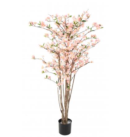 Cerisier en fleurs artificiel 150cm