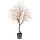 Cerisier fleur large artificiel rose clair 280cm