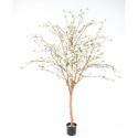 Cerisier fleurs large artificiel blanc 210cm