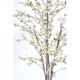 Cerisier fleurs artificiel blanc 210cm