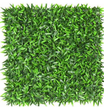 Plaque herbe artificielle 50cmx50cm