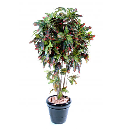 Croton artificiel 110cm | Plante verte artificielle