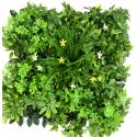 Plaque verdure artificielle UV 50cmx50cm