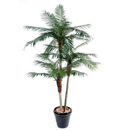 Palmier artificiel Phoenix 3 troncs 225cm