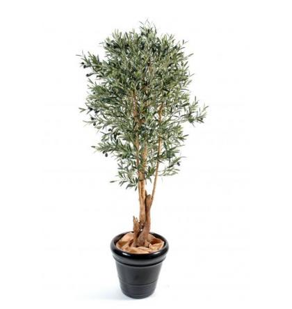 olivier artificiel tronc noueux 210cm
