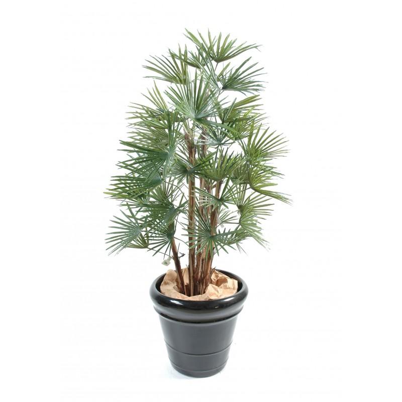 Palmier artificiel livistonia 110 140cm plantes for Arbre palmier artificiel