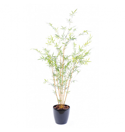 Bambou artificiel cannes fines Natural Plast 195cm