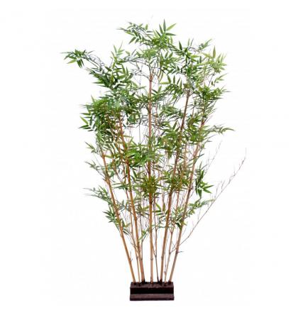 Bambou Artificiel Oriental Haie 150cm