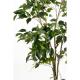 Ficus artificiel tronc plastique 150cm