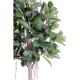 Ficus artificiel Rubber plant tree 220cm