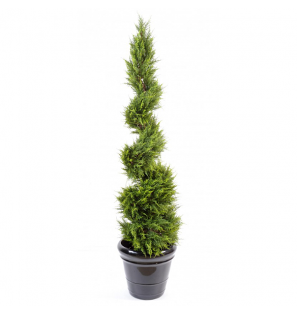 Cyprès artificiel Juniperus spirale UV 130 et 160cm